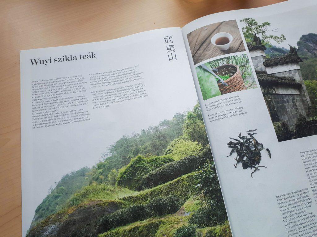 A Zhao Zhou saját tea újsága