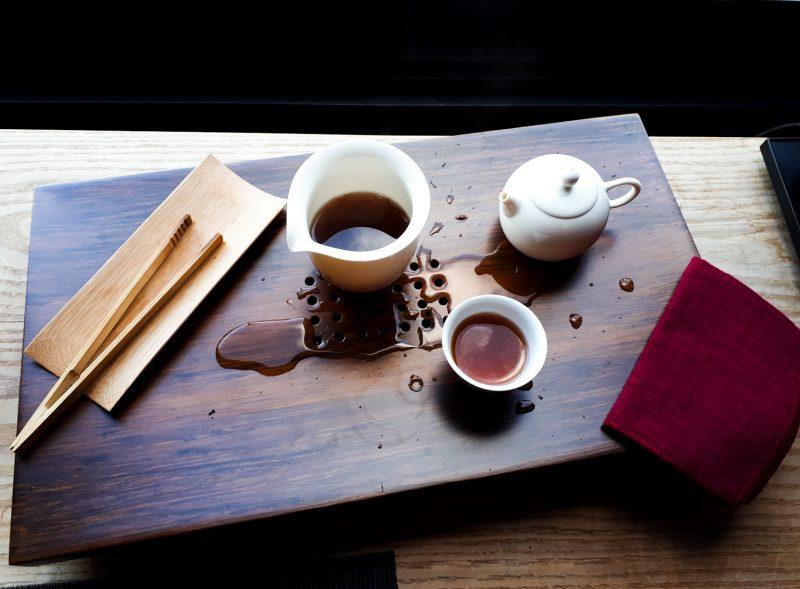Tea ceremónia a Zhao Zhou-nál. Fotó: szeretlekTEA