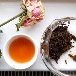 japán organikus fermentált tea, rosecha